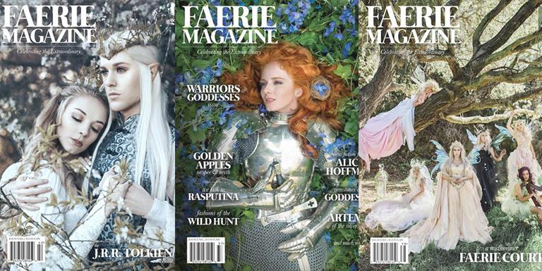 Faerie Magazine é uma revista para amantes de fadas e de uma vida encantada
