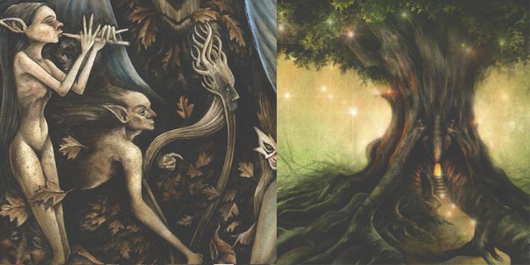 Caprice, banda de música de fadas e elfos, Girdenwodan Part 1