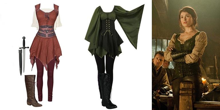 Dicas de como montar um visual medieval de camponesa, bruxa, elfa arqueira ou fada da floresta com roupas de lojas comuns